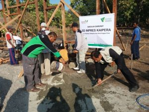 Dompet Dhuafa Build Emergency School for Alor Earthquake Victims