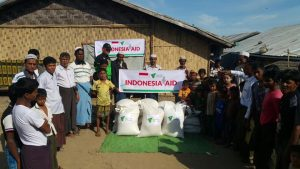 Dompet Dhuafa Distribute Food Aid in Rakhine