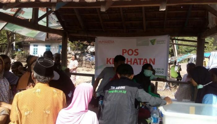 Under the scorching of sun: Bima's flood survivors get free medical services