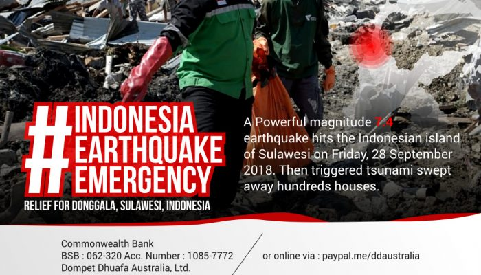 Indonesia Earthquake Emergency (Photos)