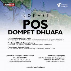 Siaga Tsunami Banten Lampung