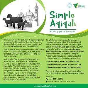 Simple Aqiqah-Bikin aqiqah jadi mudah!