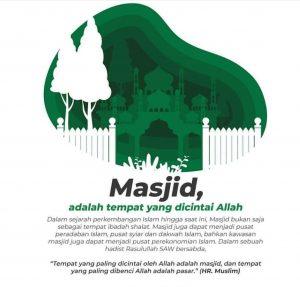 Tempat yang Allah Cintai, Wakaf Masjid, Millenial Bangun Masjid