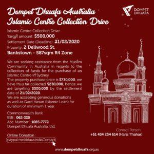 DDA – Islamic Centre Collection Drive
