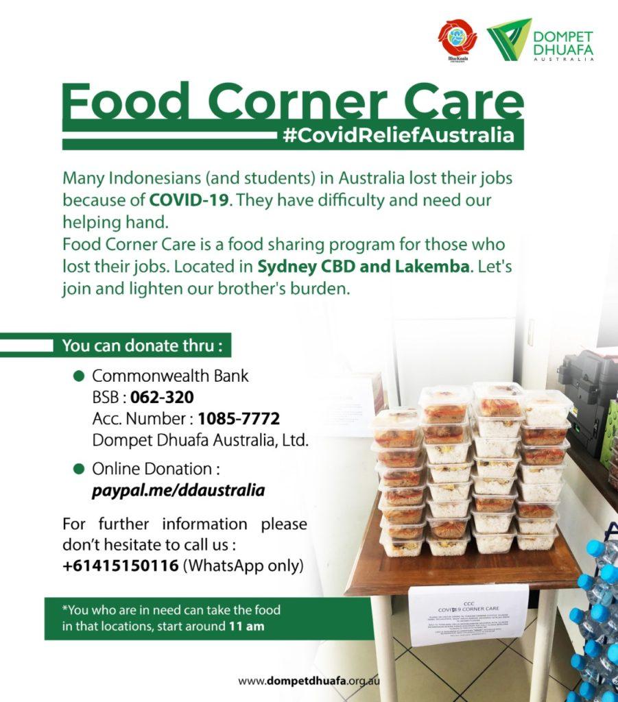 Food Corner Care Sydney CBD