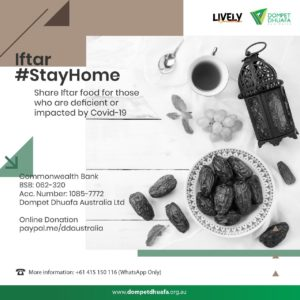 Iftar #StayHome