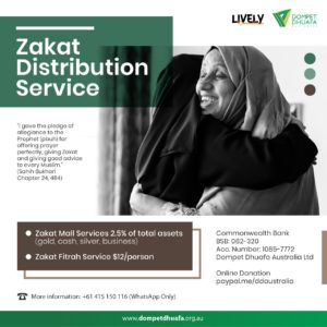 Zakat Distribution Service