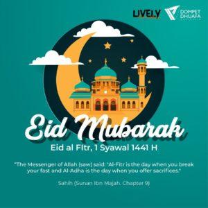 Eid al Fitr, 1 Syawal 1441 H