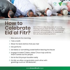 How to Celebrate Eid al Fitr?