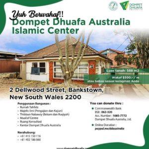 Amazing bulan Dzulhijjah, Yuk kita Wakaf untuk rumah Tahfidz DD Australia
